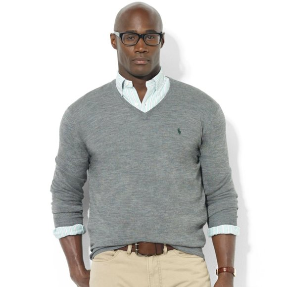 Polo by Ralph Lauren Other - Men's Polo Wool V-Neck Sweater Sz L